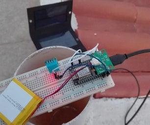 Autonomous Weather Station With ESP8266