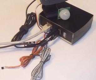 How to setup webcam data server on a Fox Board G20 ( Foxboard ) running Debian
