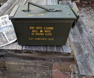 弹药箱格栅