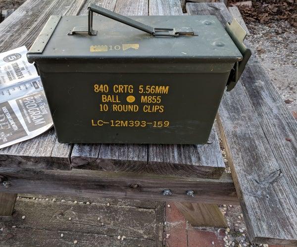 Ammo Box Grill