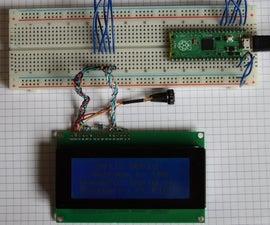 Raspberry Pi PICO LCD (not I2C)