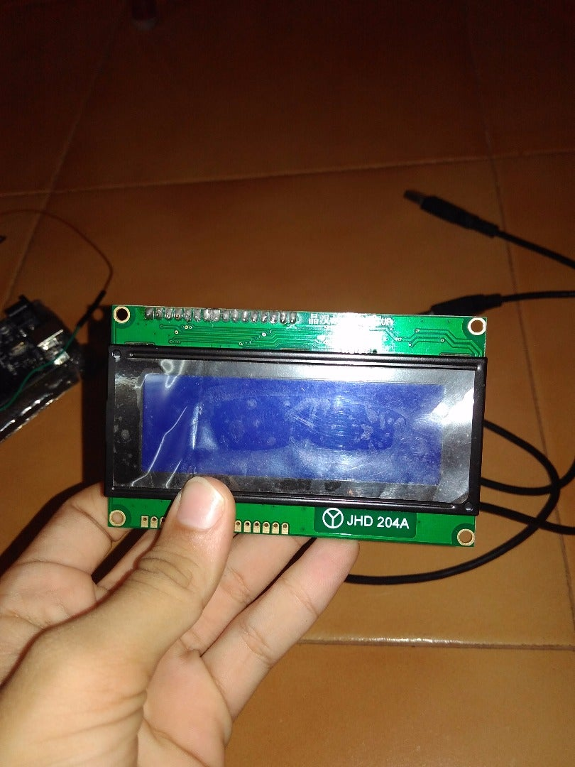 Connect the LCD