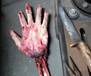 Severed Hand Prop