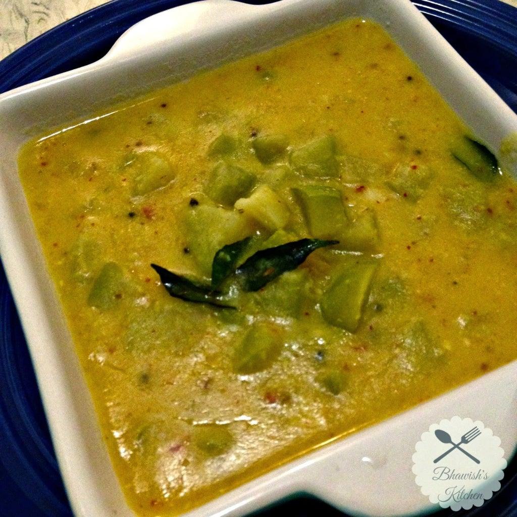 Chayote Dal Curry Recipe