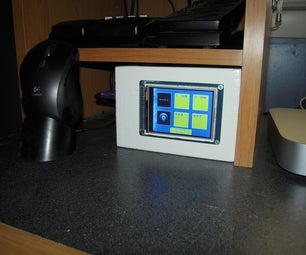 Arduino Touch Screen Room Control