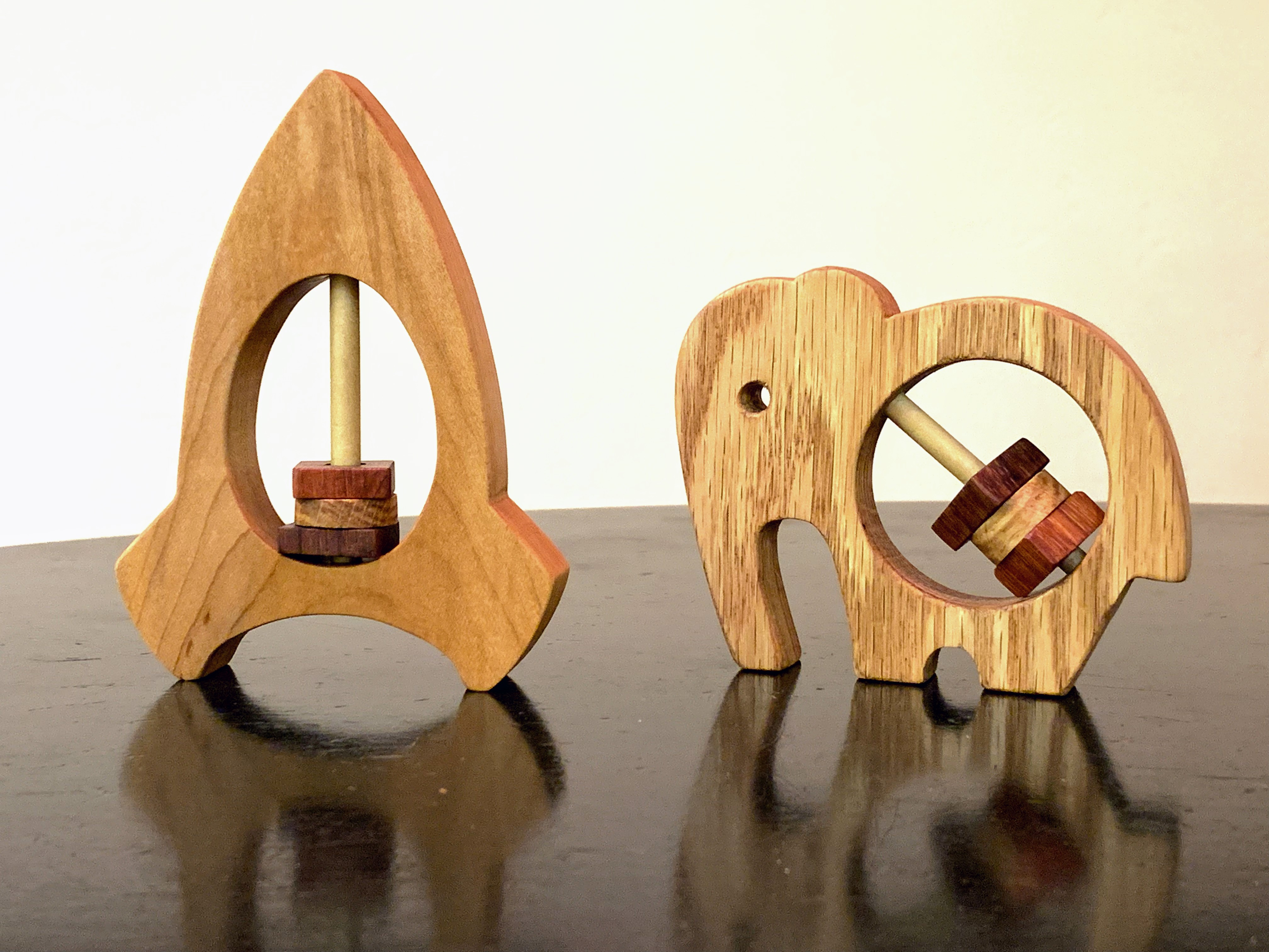 How to Make a Wooden Baby Rattle