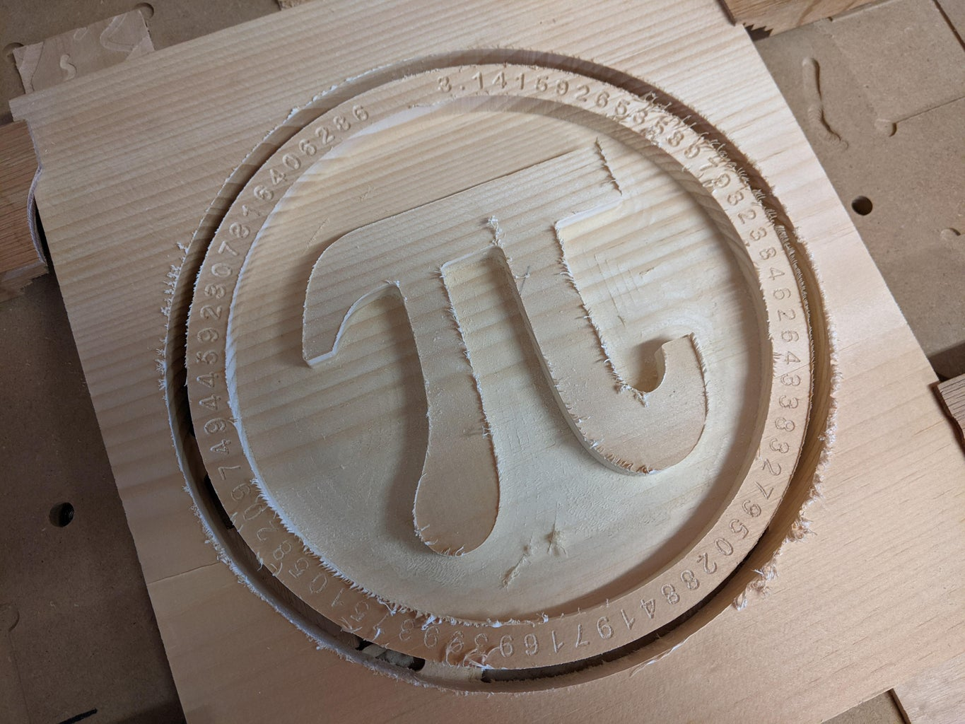 Run the Front_pi Carving Gcode