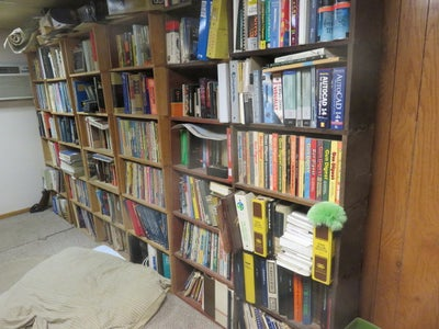 Stacking Book Shelves, Utility Storage Racks, Low Cost, Recycled or Salvaged Materials