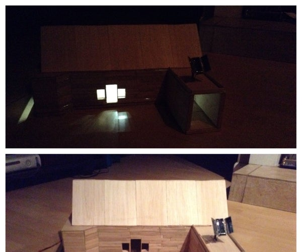 How to Make a  Popsicle  Stick and Balsa Wood House