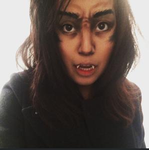 Penny Dreadful Inspired Werewolf Makeup!