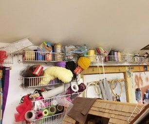 Ribbon & Yarn Storage