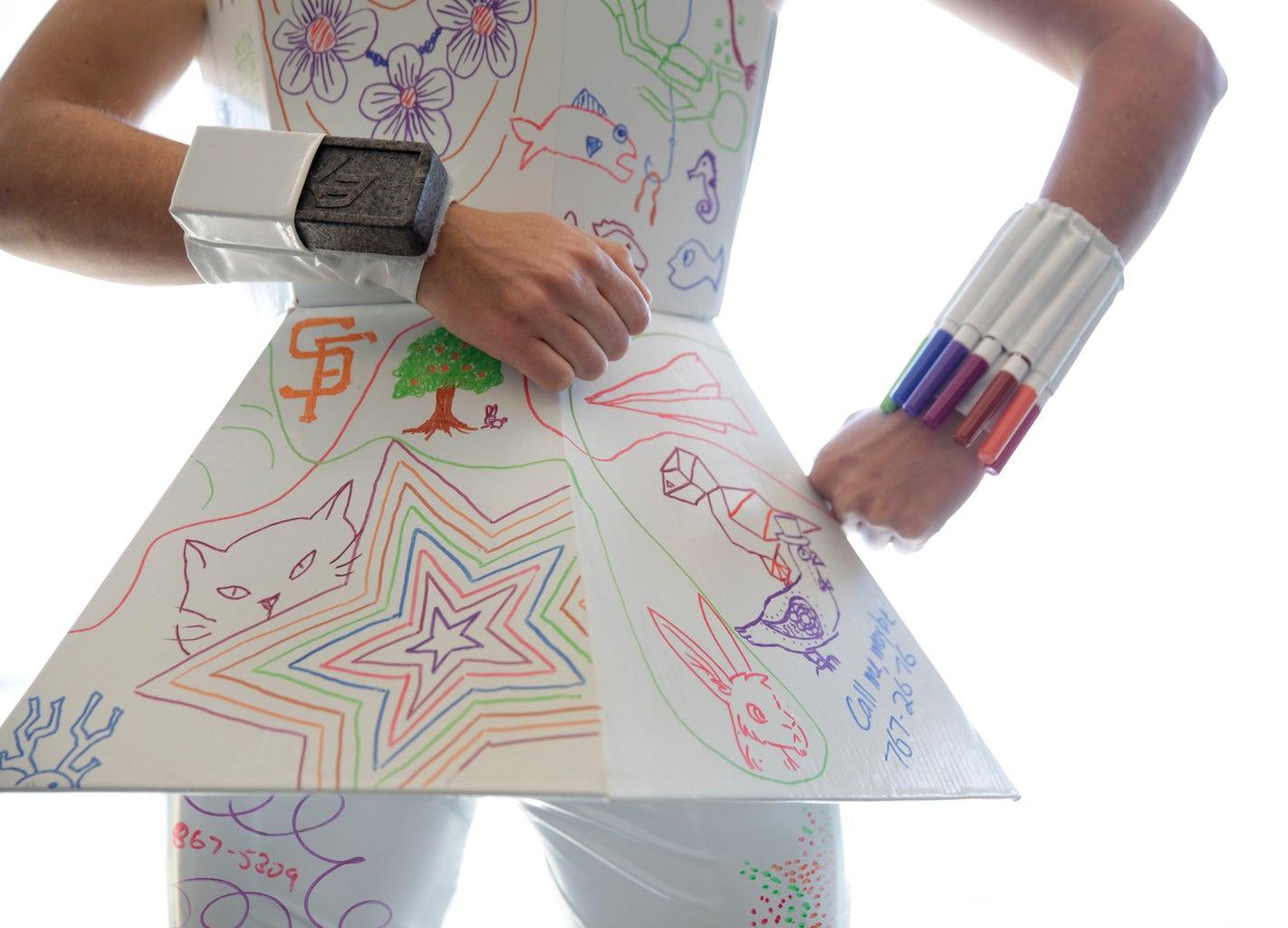 Whiteboard Costume