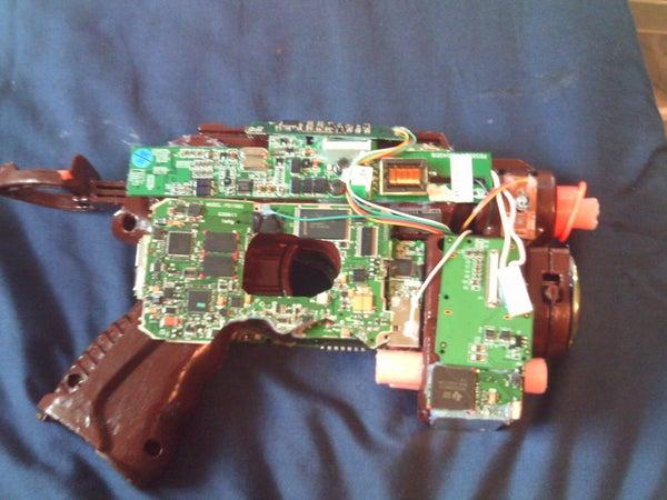 Nerf Electronic Gun!