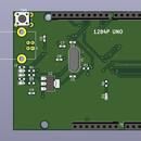ATmega1284P Arduino Uno Compatible Board