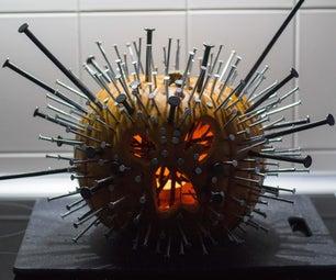 Nailed It! - Scary Blowfish Pumpkin