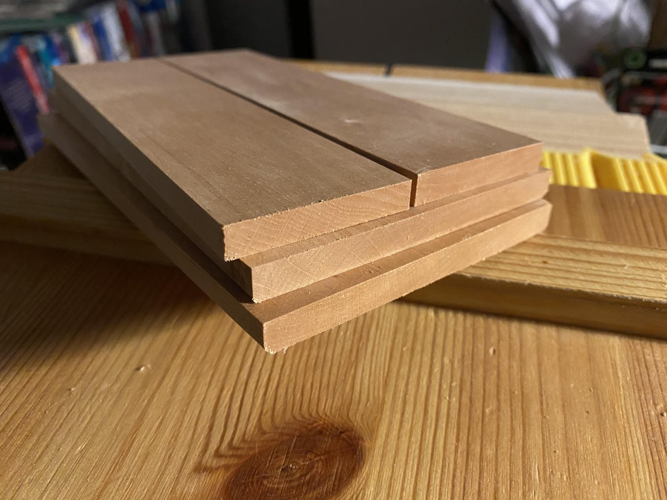 Flattening, Squaring, and Ripping the Lumber