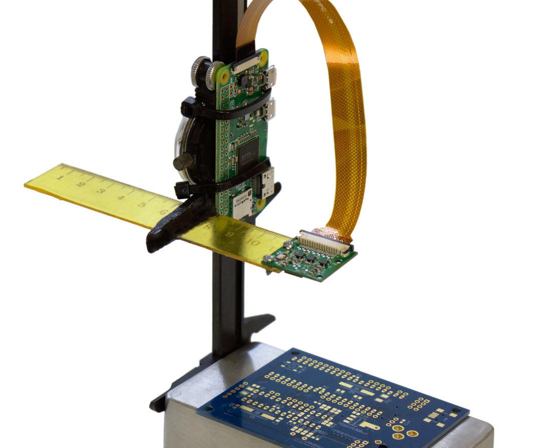 Raspberry Pi Zero HDMI/WiFi Soldering Microscope