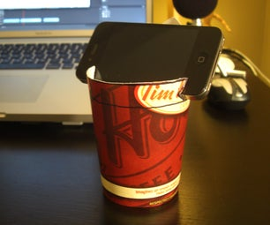 How to Make a Smart Phone Holder for Your IPhone, Android and or Black Berry for Pennies