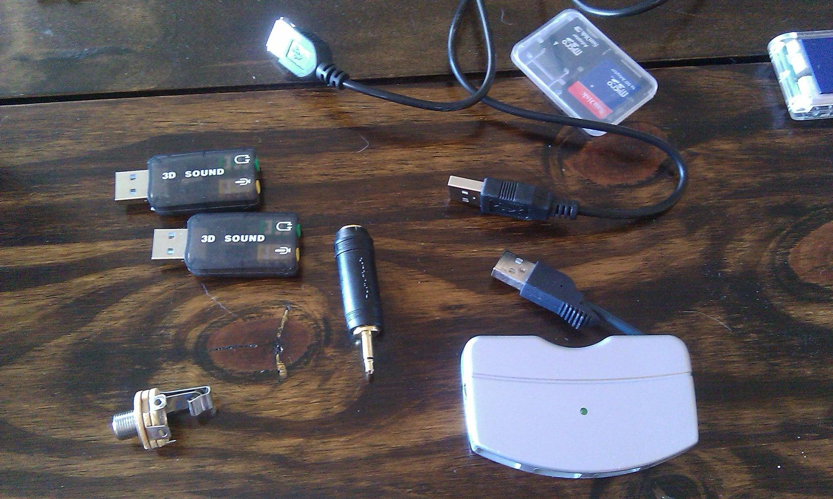 Get USB Soundcards