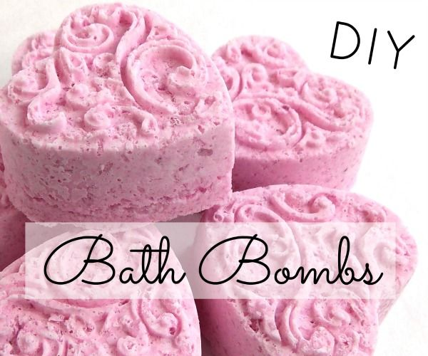 DIY Bath Bomb Fizzies