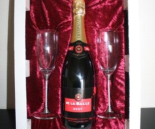 Swarovski Champagne Glass