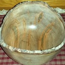 Creating A Natural Bark Edge Wooden Bowl