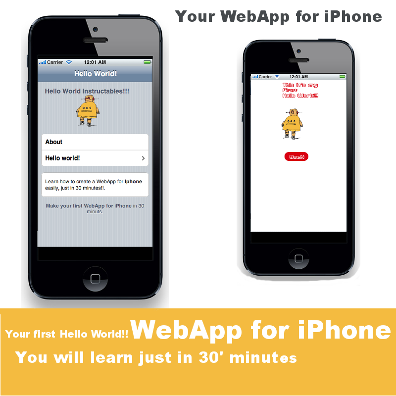 Create your first mobile WebApp in just 30' minutes