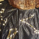 Edwardian Constellation Skirt With Fairy Lights