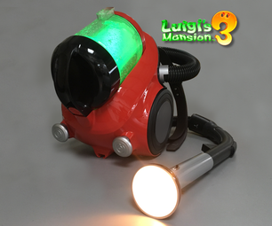 Luigi's Mansion 3: Poltergust G-OO (from a Real Vacuum!)