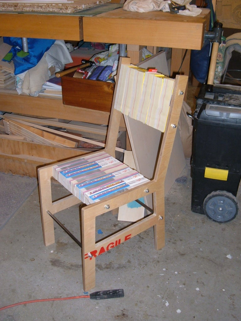 Telephone Book Chair