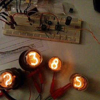 High Voltage Power Supply for Nixie and Valve Tubes