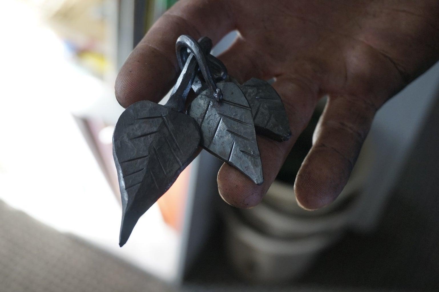 Forging a Leaf