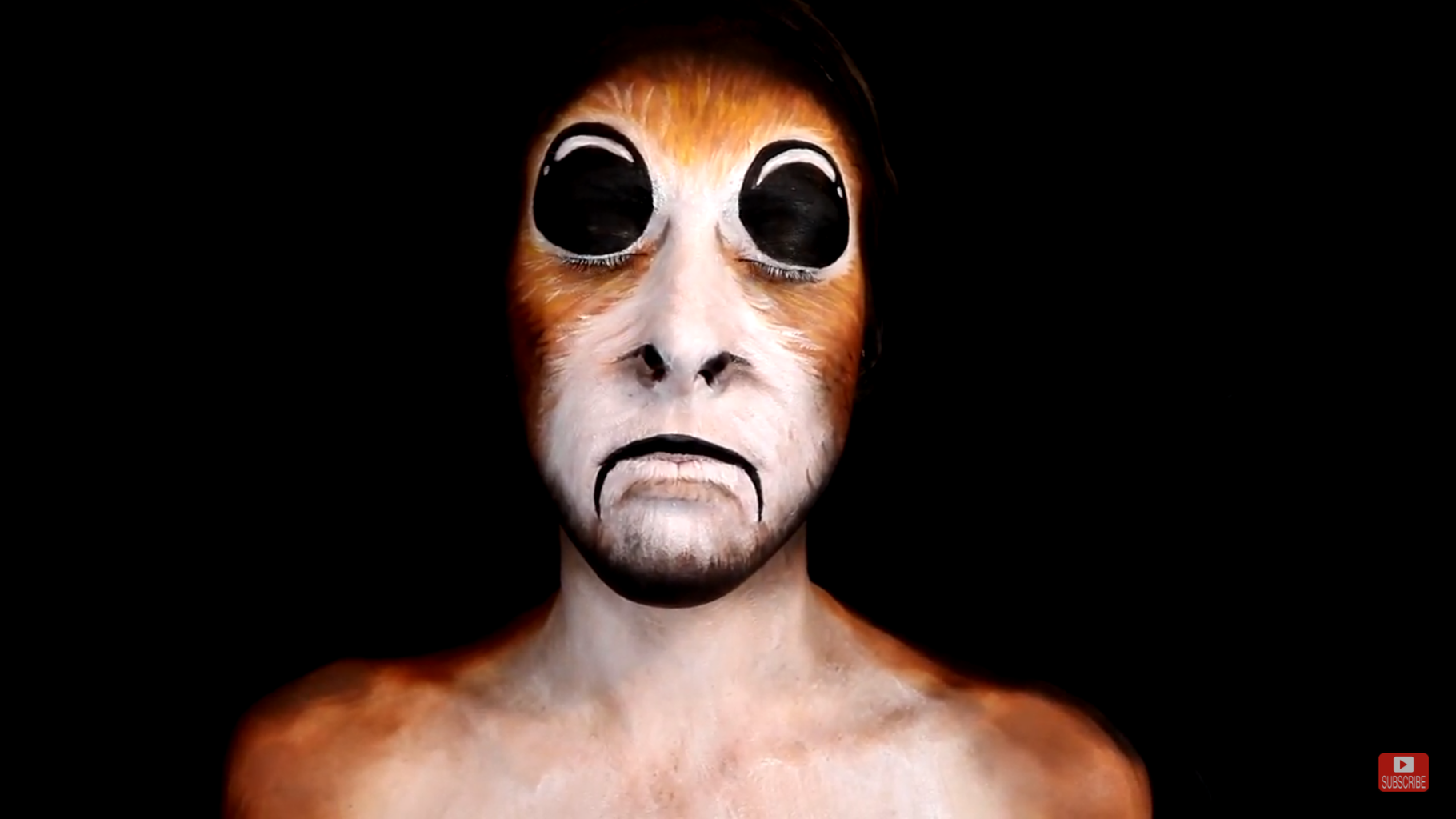 Porg Makeup From StarWars