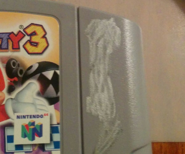 Remove Writing From Video Game Cartridges