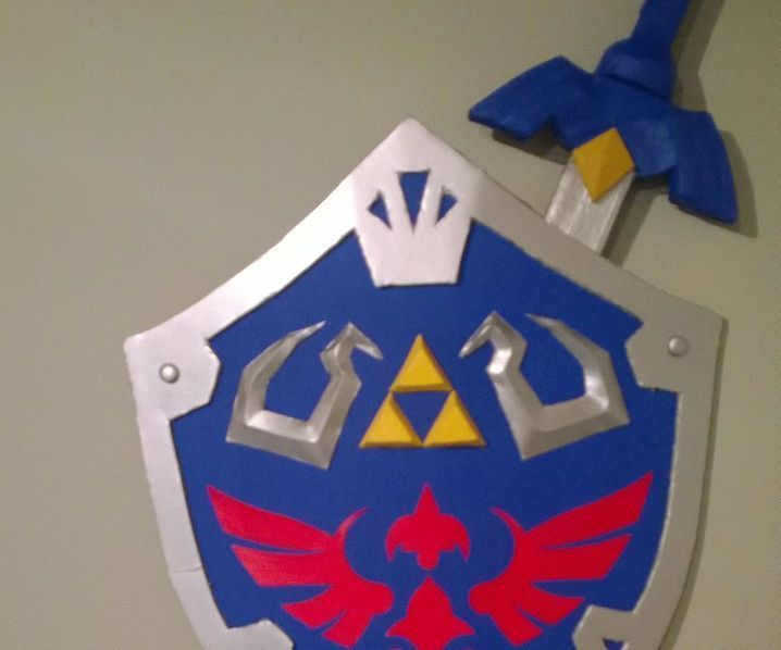 Zelda Shield and Sword (Captain America)