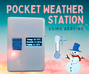 Pocket Weather Station | Your Self-Care Weather Assistant on the Go