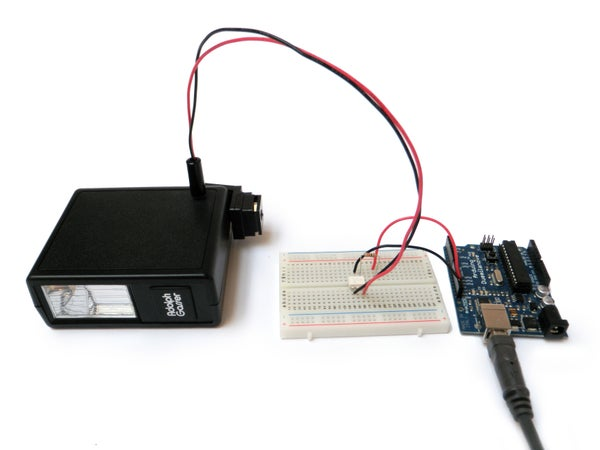 Arduino Camera Flash Control