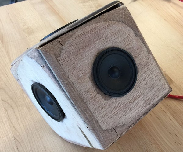 Rustic Resonance - the 360 Speaker System
