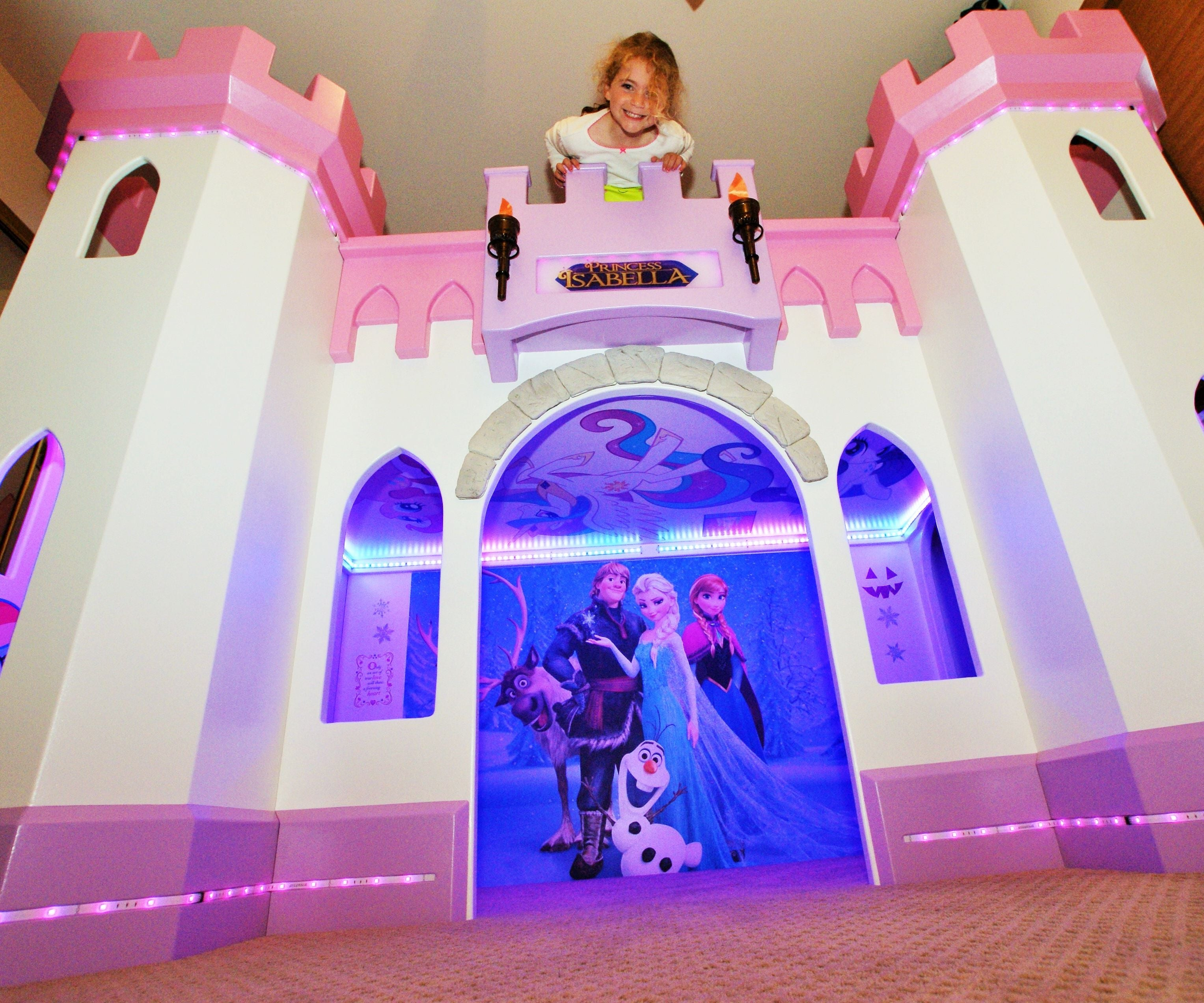 Building A Pretty Princess Castle Bed Your Child Will Love 9 Steps With Pictures Instructables