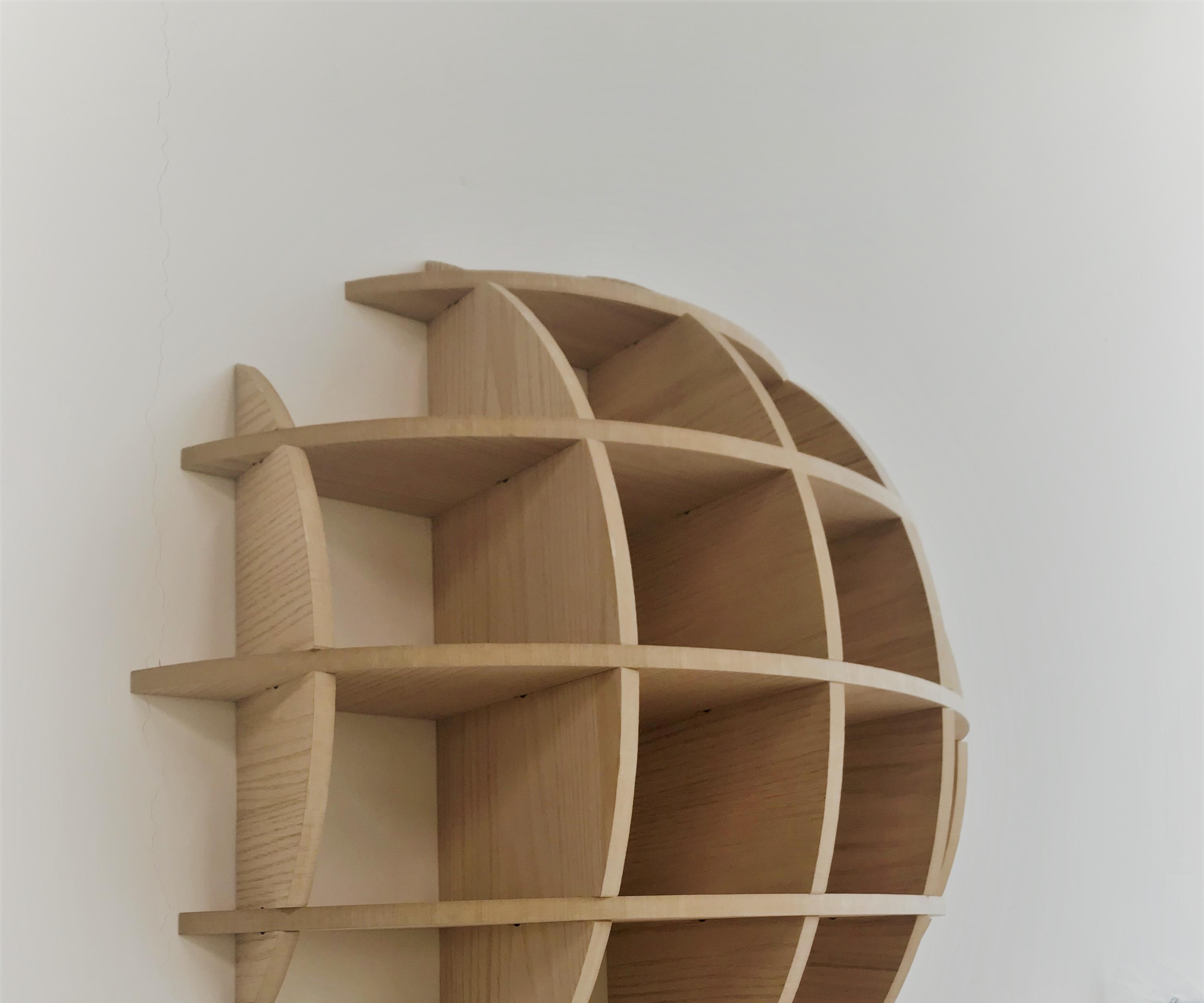 DIY Spherical Waffle Shelves (Massironi Shelves) .. the Easy Guide