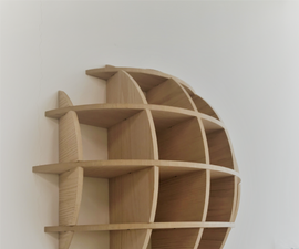 DIY Spherical Waffle Shelves (Massironi Shelves) .. the Easy Guide