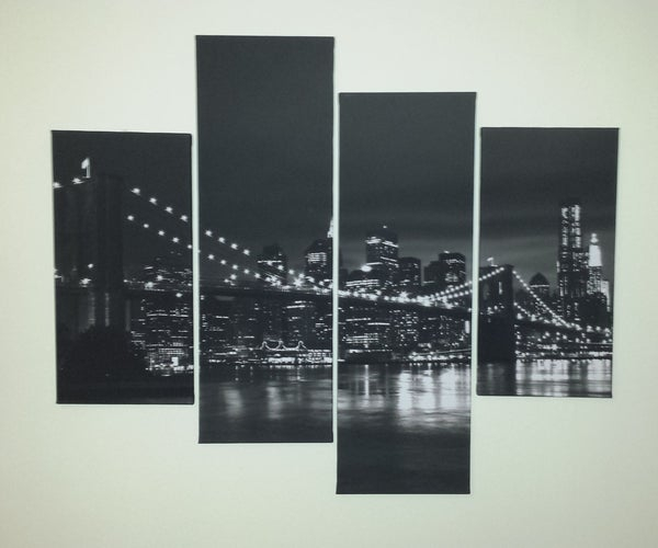 Interactive LED Programmable Canvas