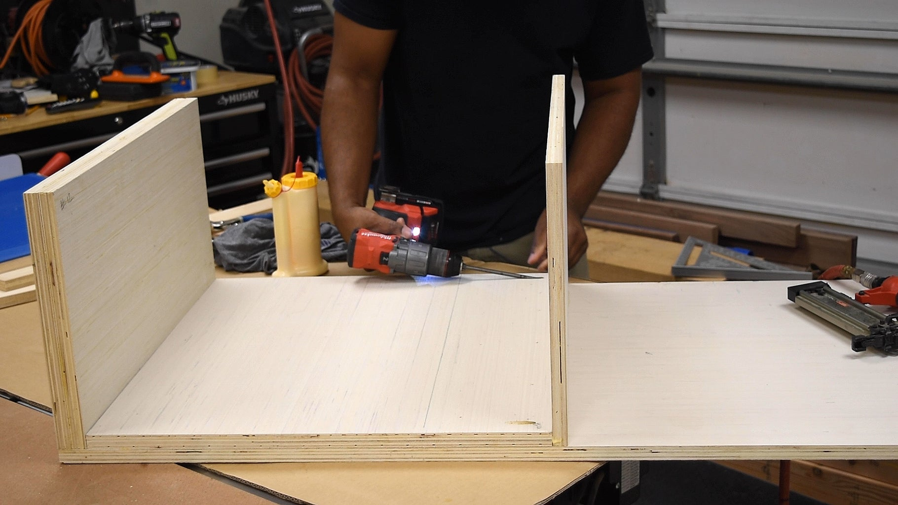 Build the Fixed Part of the Coffee Table