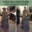 YODA ON A STUMP: An In-Progress Costume