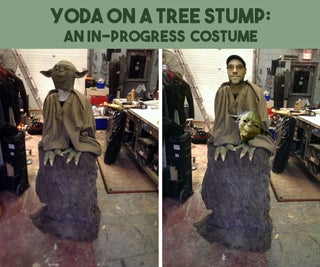 YODA ON a STUMP: an In-Progress Costume