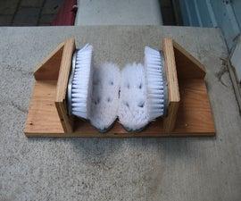 Homemade Boot Brush