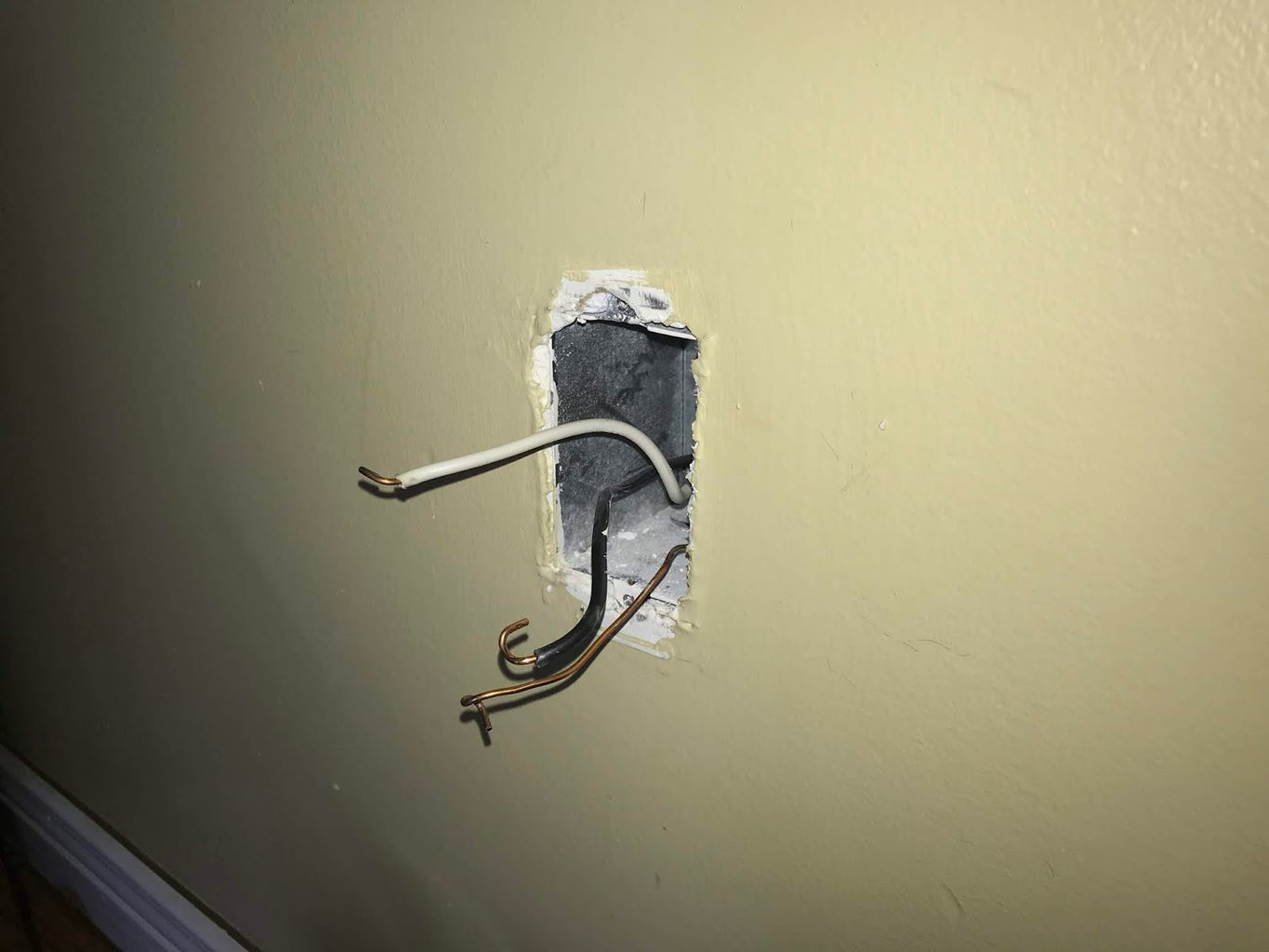 Removing the Old Outlet