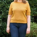 How to Sew: an Easy Comfy Top | Knit Fabric DIY Garment