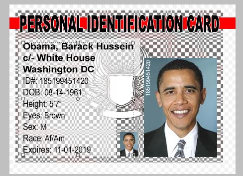 Home made ID