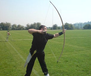 Making a medieval style English longbow